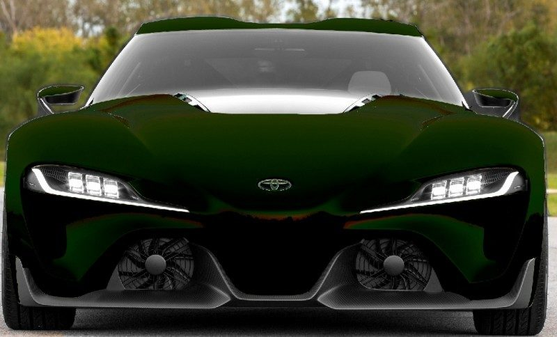 Car-Revs-Daily.com FT-1 Digital Colorizer - 150 Shades of 2016 TOYOTA SUPRA TURBO 87