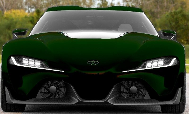 Car-Revs-Daily.com FT-1 Digital Colorizer - 150 Shades of 2016 TOYOTA SUPRA TURBO 88
