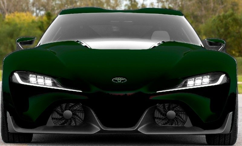 Car-Revs-Daily.com FT-1 Digital Colorizer - 150 Shades of 2016 TOYOTA SUPRA TURBO 89