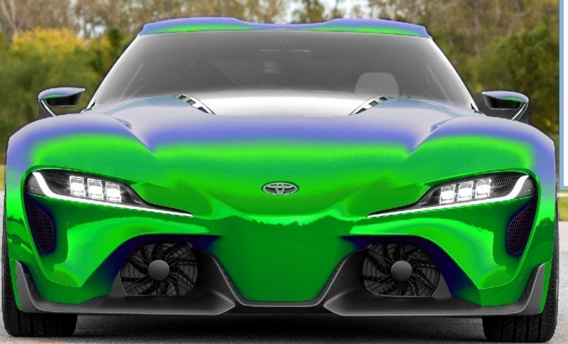 Car-Revs-Daily.com FT-1 Digital Colorizer - 150 Shades of 2016 TOYOTA SUPRA TURBO 9