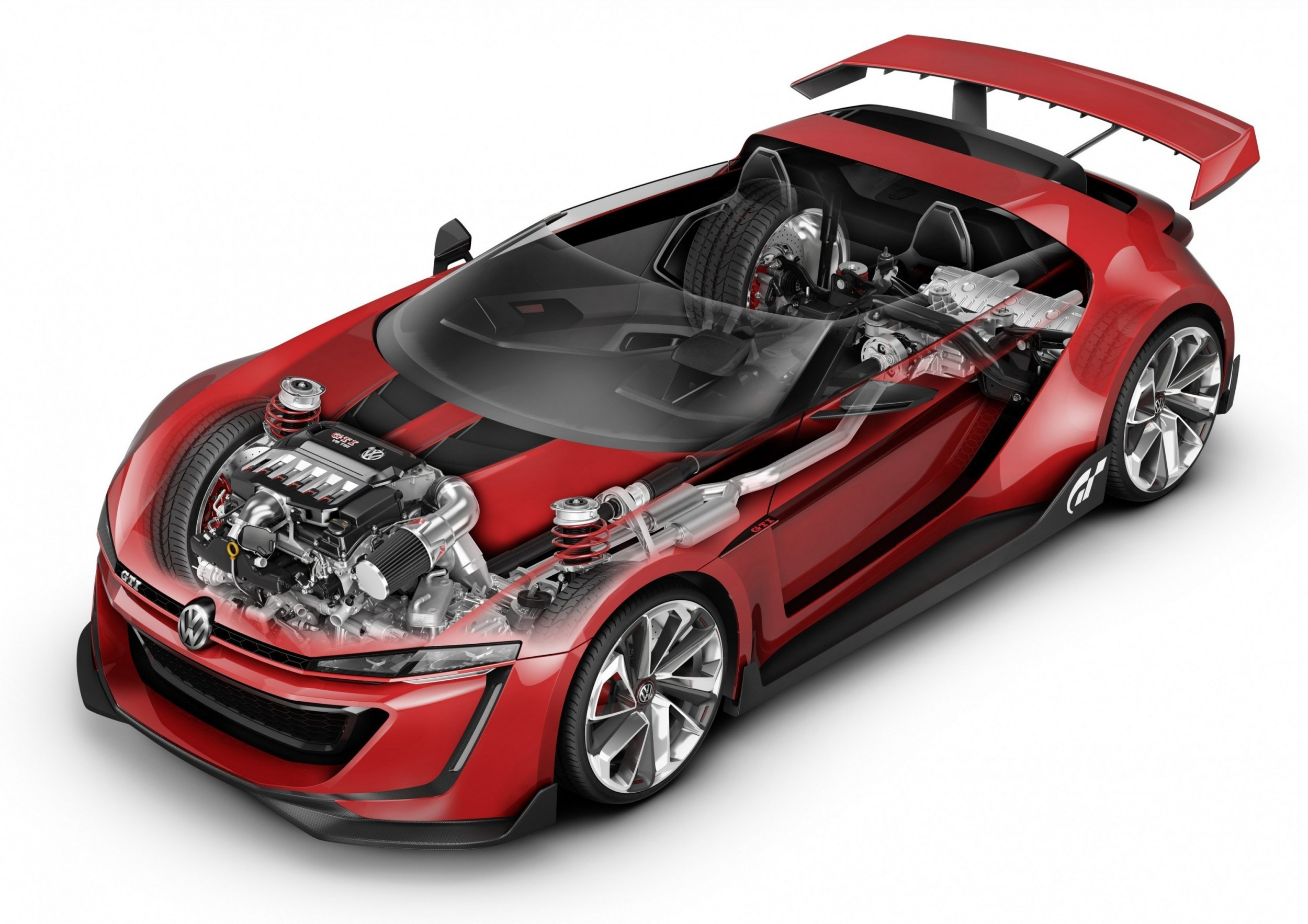 Volkswagen Gti Roadster 2018 >> Vision GT Concept Cars - What Is Left? Teasers From Subaru, Lexus, Honda, Tesla, Aston, Ford, GM...