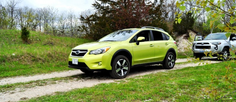 Car-Revs-Daily.com Goes Off-Roading in 2014 Subaru XV Crosstrek Hybrid 11