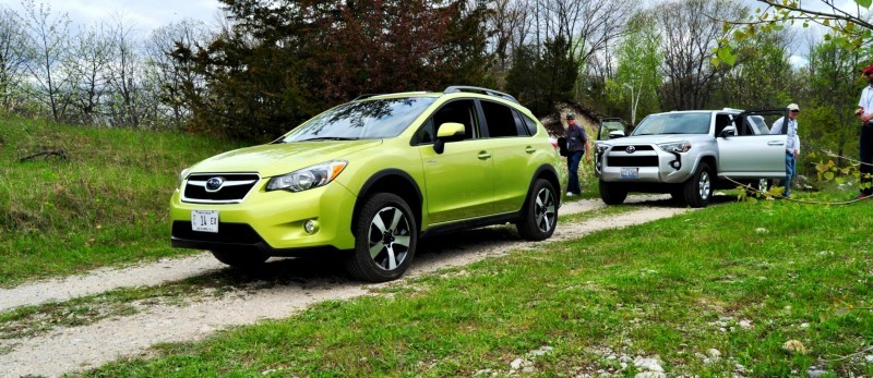 Car-Revs-Daily.com Goes Off-Roading in 2014 Subaru XV Crosstrek Hybrid 12
