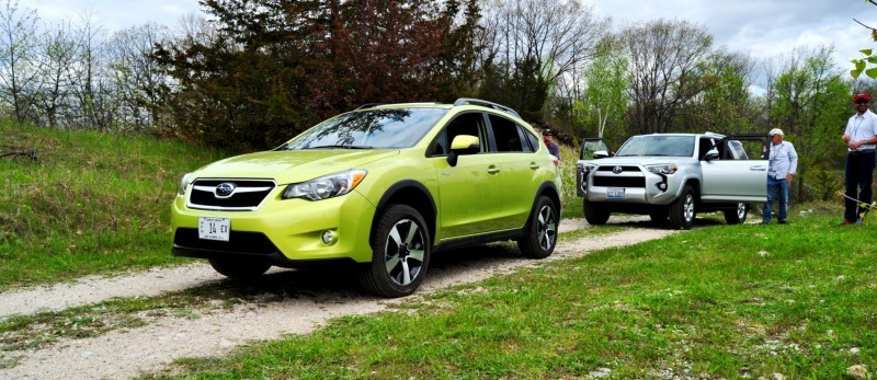 Car-Revs-Daily.com Goes Off-Roading in 2014 Subaru XV Crosstrek Hybrid 13