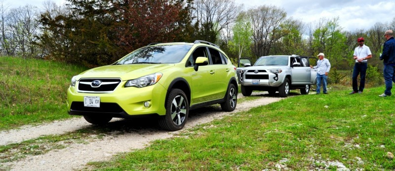 Car-Revs-Daily.com Goes Off-Roading in 2014 Subaru XV Crosstrek Hybrid 14