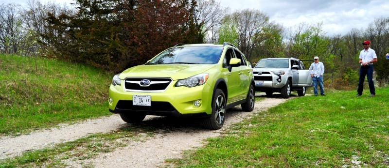 Car-Revs-Daily.com Goes Off-Roading in 2014 Subaru XV Crosstrek Hybrid 16