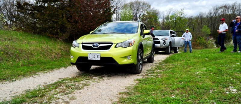 Car-Revs-Daily.com Goes Off-Roading in 2014 Subaru XV Crosstrek Hybrid 17