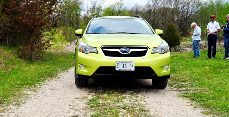 Car-Revs-Daily.com Goes Off-Roading in 2014 Subaru XV Crosstrek Hybrid 22