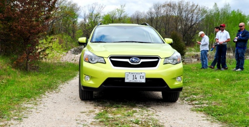 Car-Revs-Daily.com Goes Off-Roading in 2014 Subaru XV Crosstrek Hybrid 23