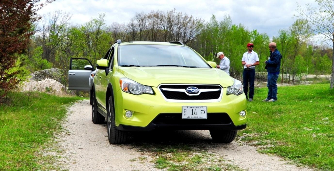 off-road test review - 2014 subaru xv crosstrek hybrid is