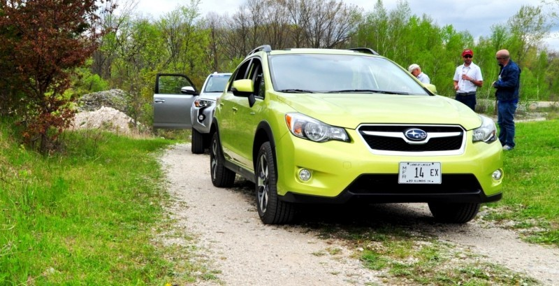 Car-Revs-Daily.com Goes Off-Roading in 2014 Subaru XV Crosstrek Hybrid 26