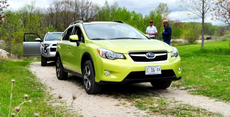Car-Revs-Daily.com Goes Off-Roading in 2014 Subaru XV Crosstrek Hybrid 27