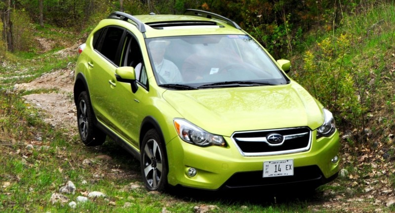 Car-Revs-Daily.com Goes Off-Roading in 2014 Subaru XV Crosstrek Hybrid 33