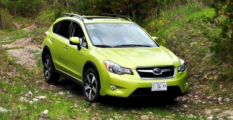 Car-Revs-Daily.com Goes Off-Roading in 2014 Subaru XV Crosstrek Hybrid 34