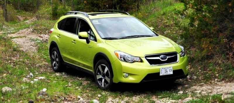 Car-Revs-Daily.com Goes Off-Roading in 2014 Subaru XV Crosstrek Hybrid 35