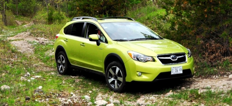 Car-Revs-Daily.com Goes Off-Roading in 2014 Subaru XV Crosstrek Hybrid 36
