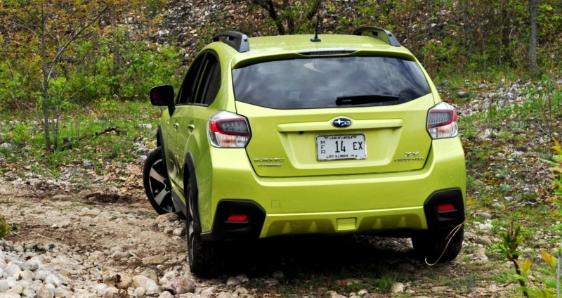 Car-Revs-Daily.com Goes Off-Roading in 2014 Subaru XV Crosstrek Hybrid 39