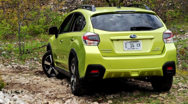 Car-Revs-Daily.com Goes Off-Roading in 2014 Subaru XV Crosstrek Hybrid 40