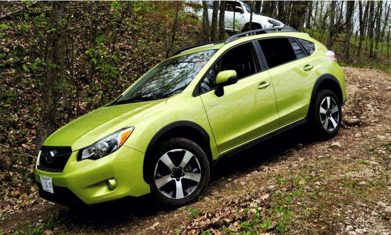 Car-Revs-Daily.com Goes Off-Roading in 2014 Subaru XV Crosstrek Hybrid GIF3