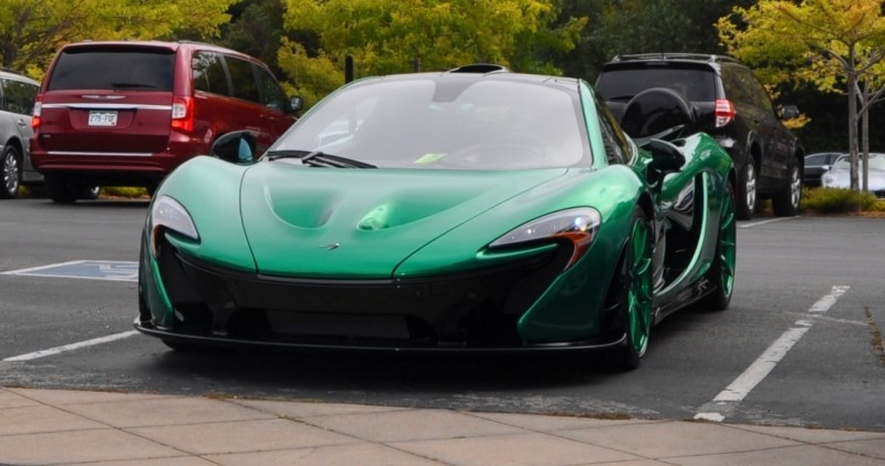 Car-Revs-Daily.com Green 2014 McLaren P1 1