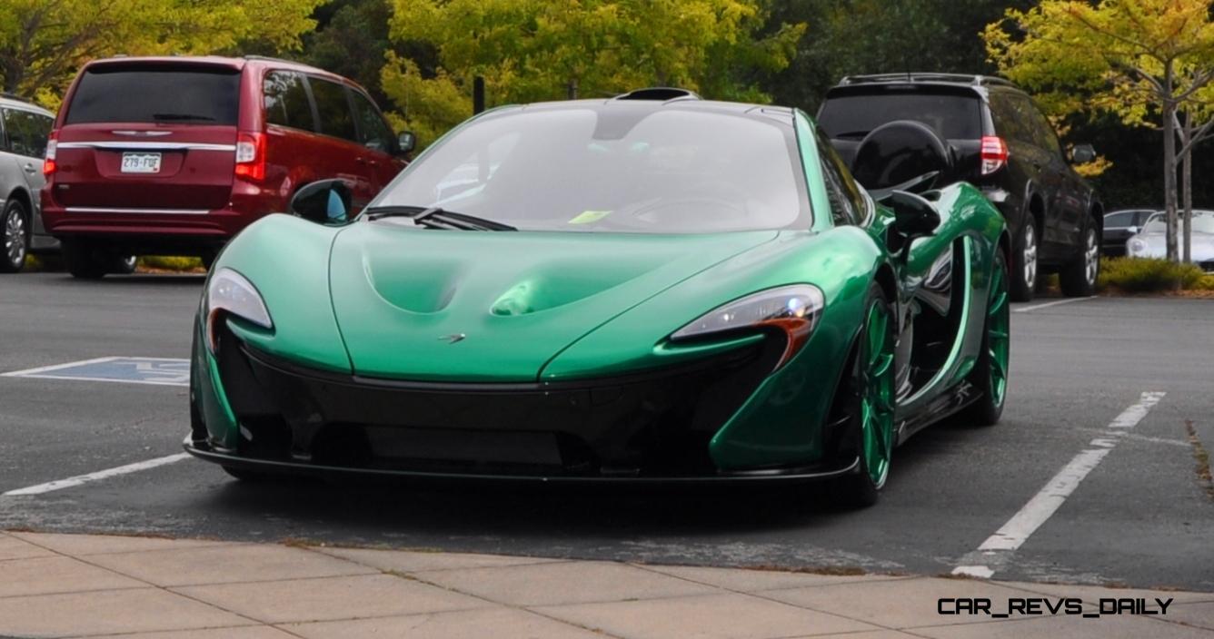 Car-Revs-Daily.com Green 2014 McLaren P1 1