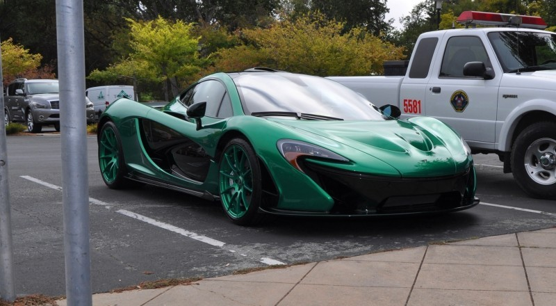 Car-Revs-Daily.com Green 2014 McLaren P1 10