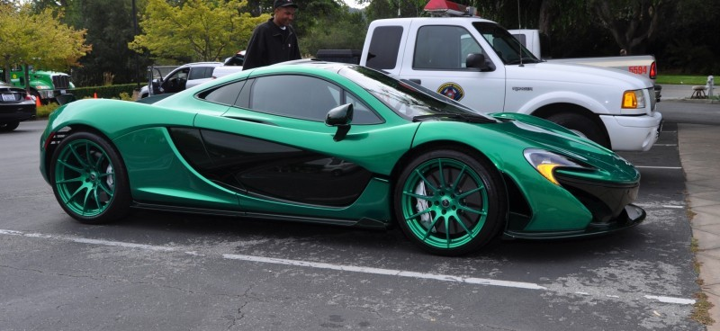 Car-Revs-Daily.com Green 2014 McLaren P1 11