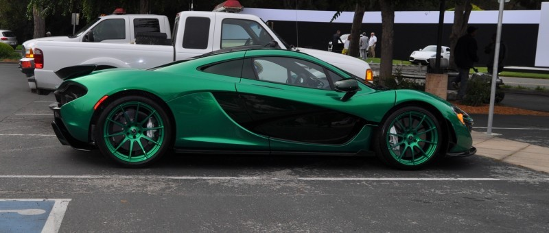 Car-Revs-Daily.com Green 2014 McLaren P1 15
