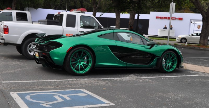 Car-Revs-Daily.com Green 2014 McLaren P1 19