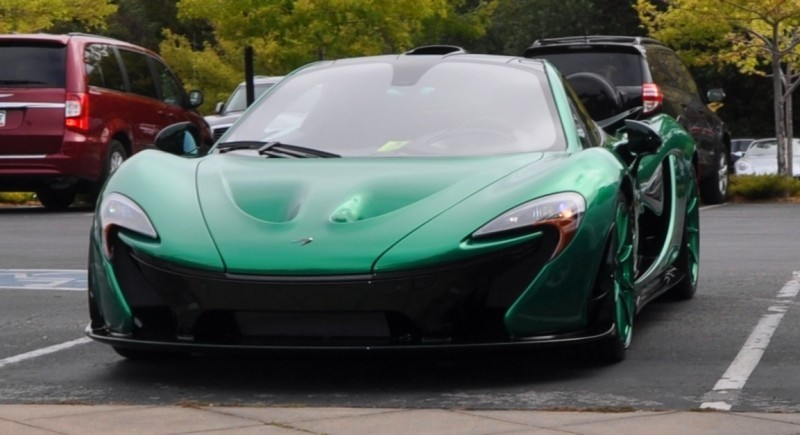 Car-Revs-Daily.com Green 2014 McLaren P1 2