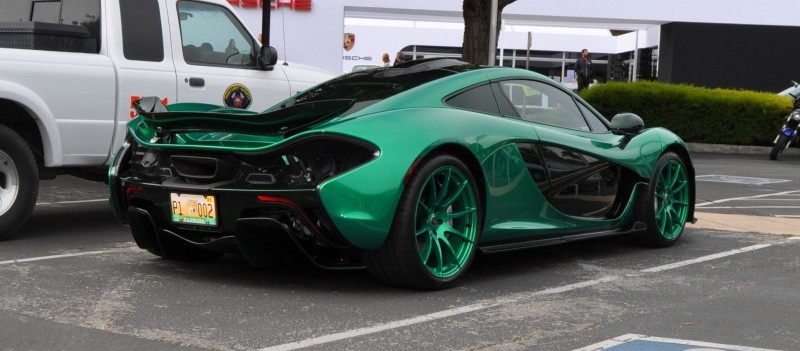 Car-Revs-Daily.com Green 2014 McLaren P1 22