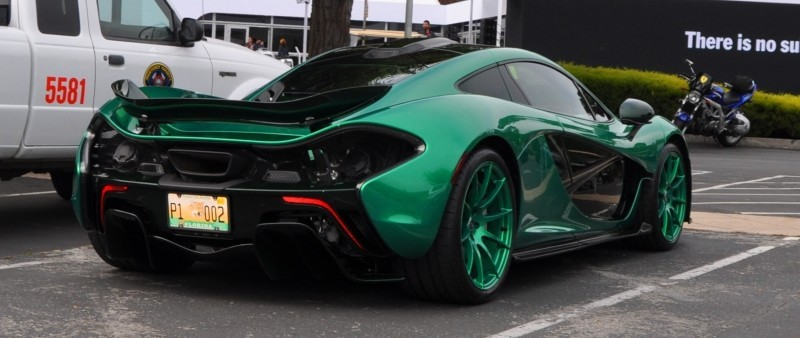 Car-Revs-Daily.com Green 2014 McLaren P1 24