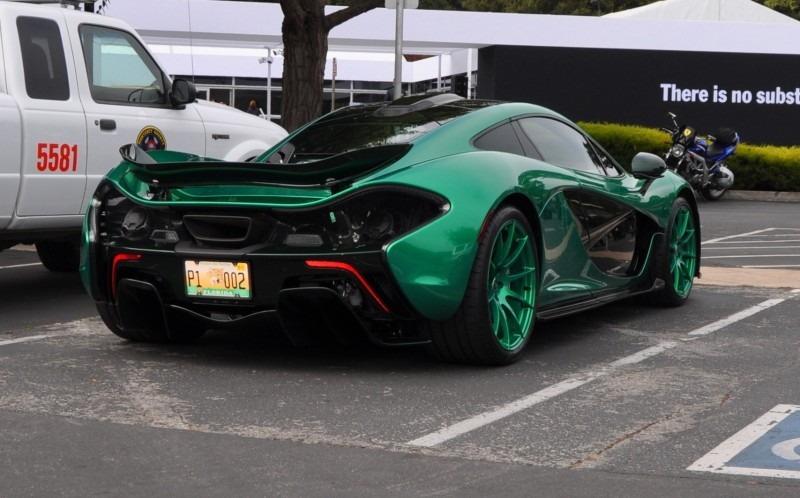 Car-Revs-Daily.com Green 2014 McLaren P1 25