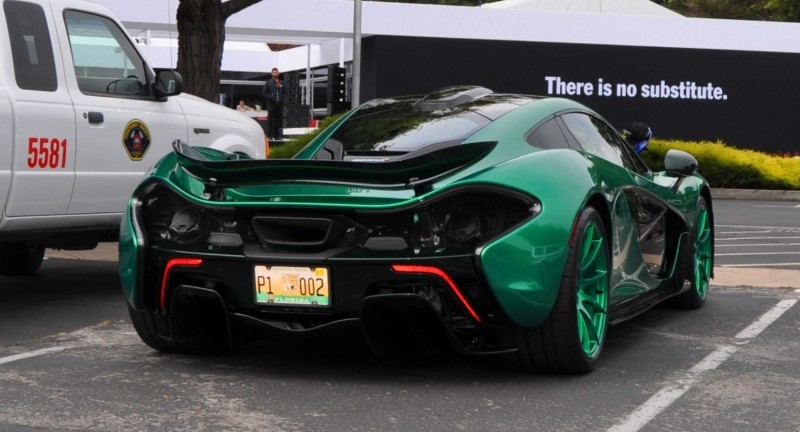 Car-Revs-Daily.com Green 2014 McLaren P1 26