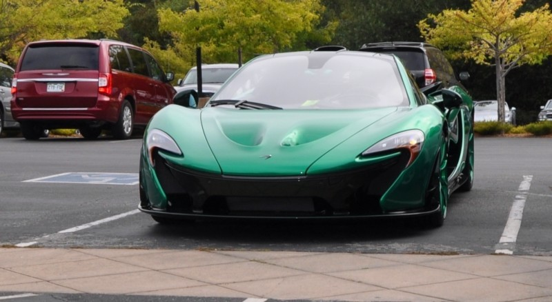 Car-Revs-Daily.com Green 2014 McLaren P1 3