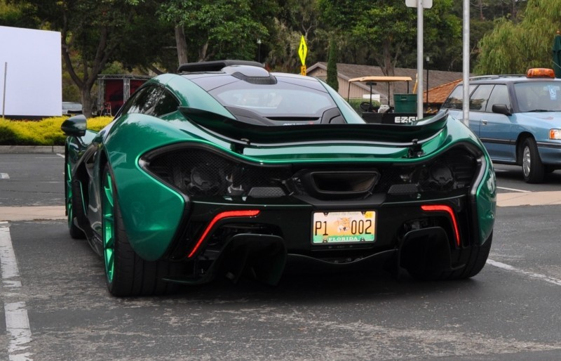 Car-Revs-Daily.com Green 2014 McLaren P1 30