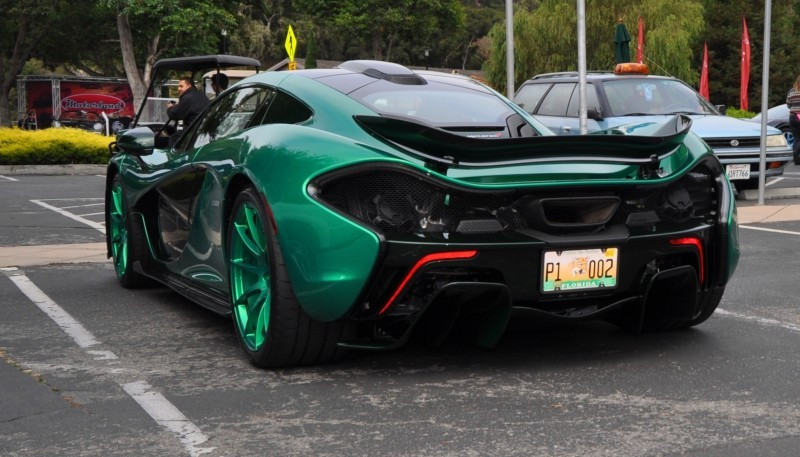 Car-Revs-Daily.com Green 2014 McLaren P1 31