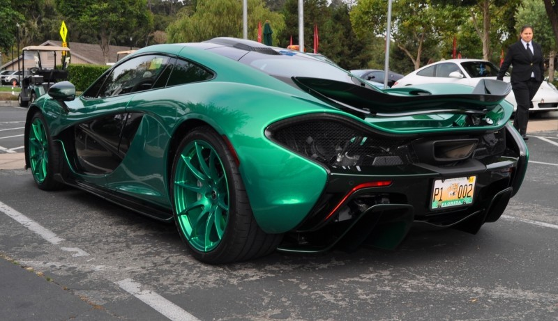 Car-Revs-Daily.com Green 2014 McLaren P1 33