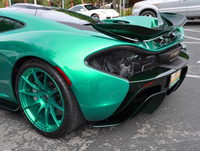 Car-Revs-Daily.com Green 2014 McLaren P1 36