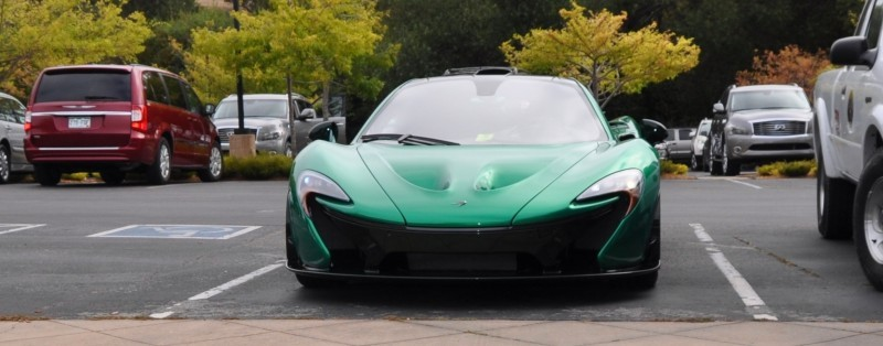 Car-Revs-Daily.com Green 2014 McLaren P1 4