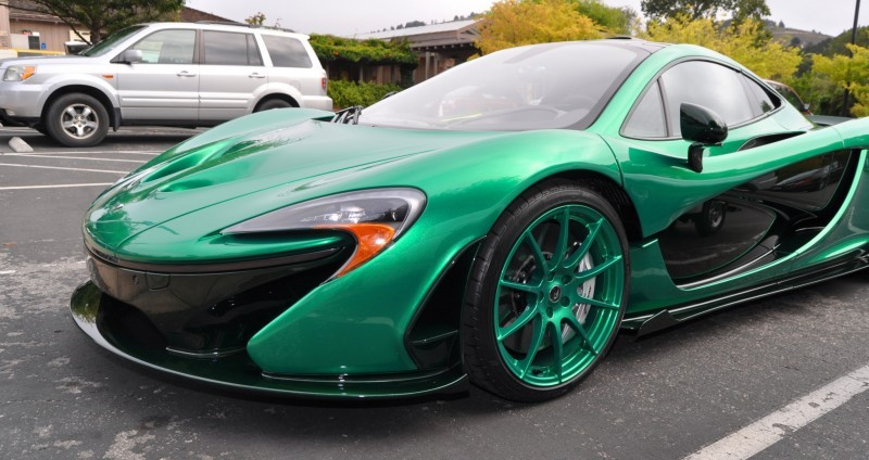 Car-Revs-Daily.com Green 2014 McLaren P1 42
