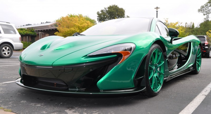 Car-Revs-Daily.com Green 2014 McLaren P1 43