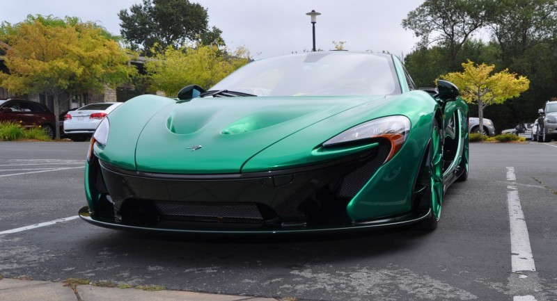Car-Revs-Daily.com Green 2014 McLaren P1 46