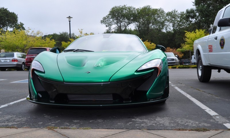 Car-Revs-Daily.com Green 2014 McLaren P1 48