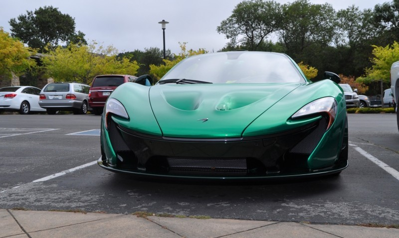 Car-Revs-Daily.com Green 2014 McLaren P1 49