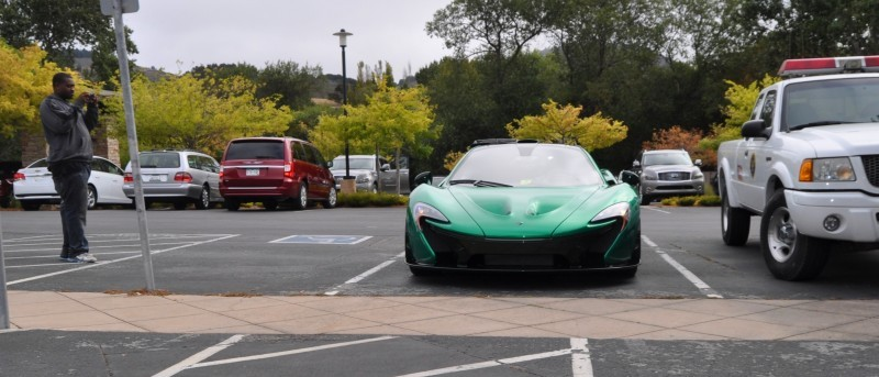 Car-Revs-Daily.com Green 2014 McLaren P1 5