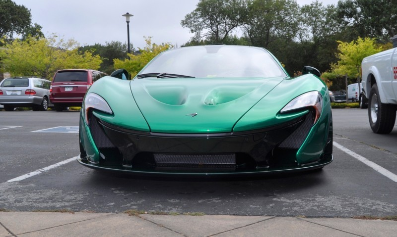 Car-Revs-Daily.com Green 2014 McLaren P1 50