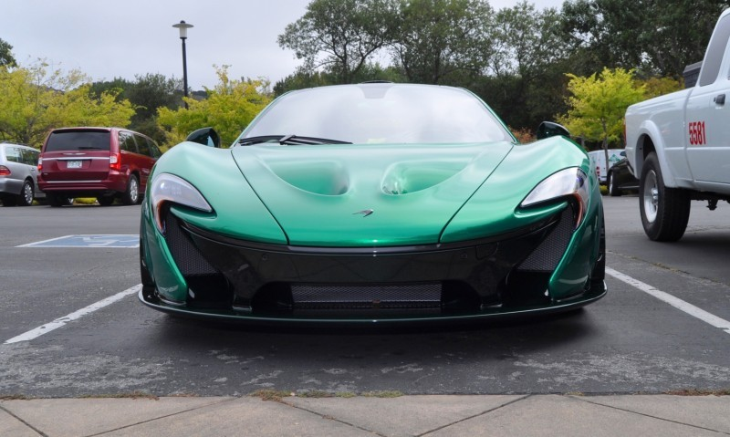 Car-Revs-Daily.com Green 2014 McLaren P1 51