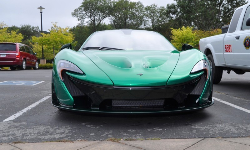 Car-Revs-Daily.com Green 2014 McLaren P1 52