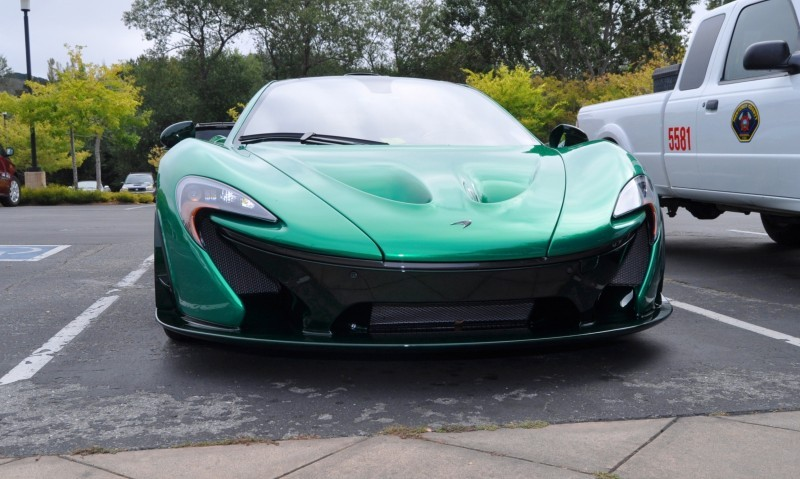 Car-Revs-Daily.com Green 2014 McLaren P1 53